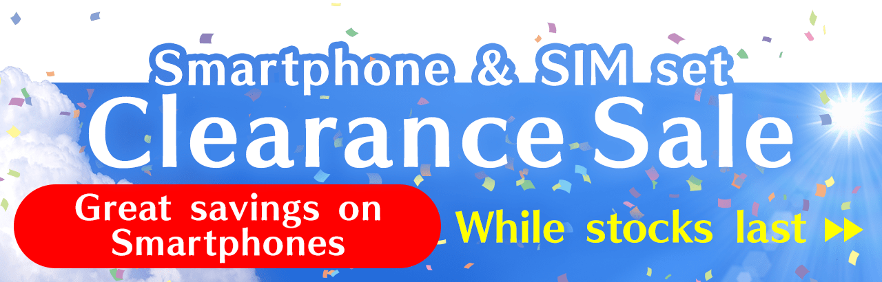 Clearance Sale | Smartphone & SIM set | Great savings on Smartphones | While stocks last
