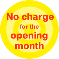 No charge for the opening month