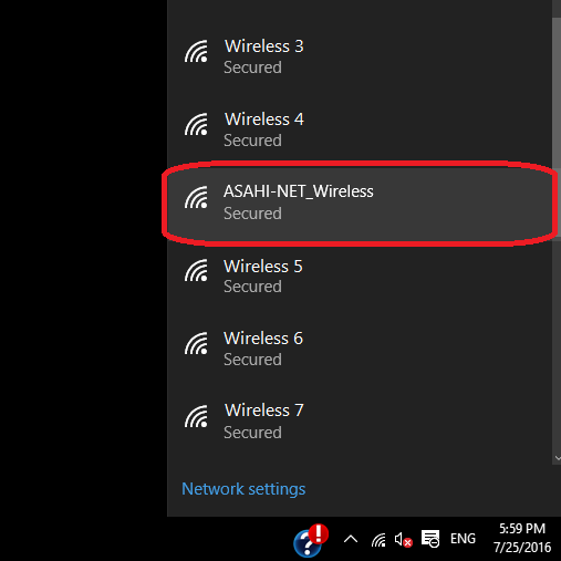 trouble connecting to wifi on windows 10